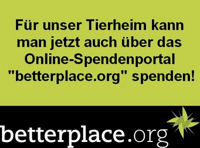 Spenden online betterplace-org